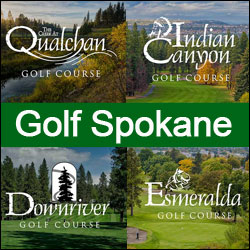 Golf Spokane Ad